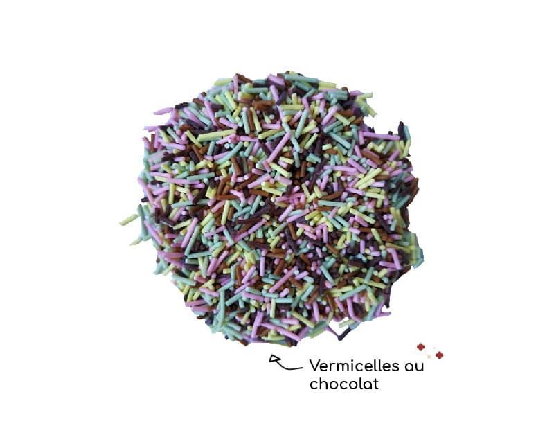 Vermicelles au chocolat