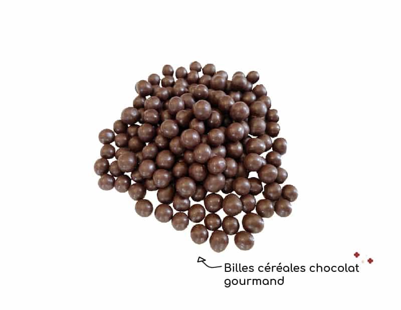 Billes céréales chocolat